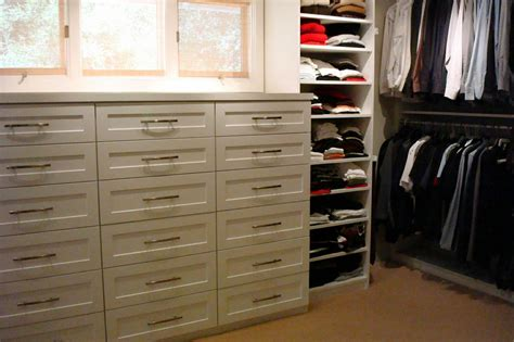 Walk In Wardrobe Drawers Pictures For Closets Etc In Santa Barbara Ca 93103