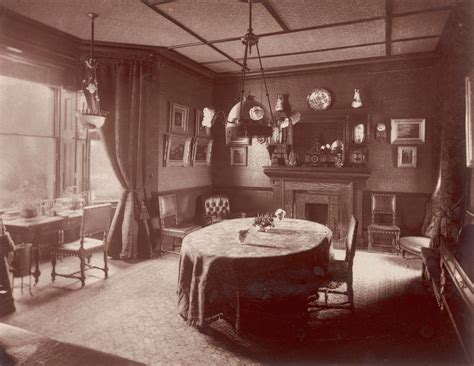 victorian dining room  electric photograph  mary