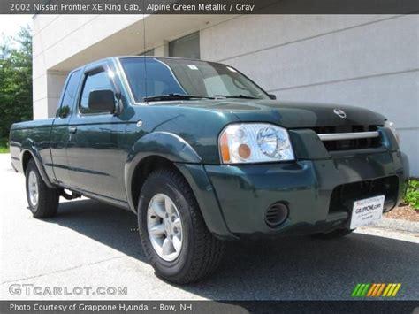 2002 nissan frontier interior alpine green metallic 2002 nissan frontier xe king cab
