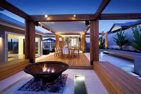 outdoor room ideas australia massively modern timber terraces extend australian home