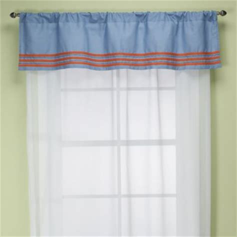 Navy Scarf Valance Buy Navy Blue Valances From Bed Bath Beyond