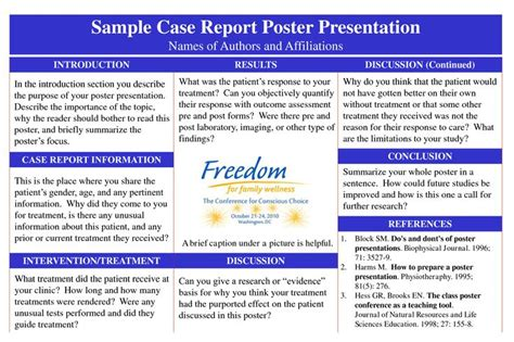 themes for report presentation poster presentation for case report google search