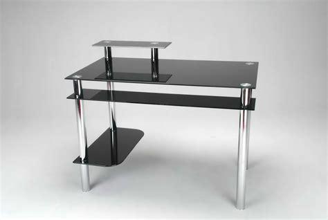 black glass computer desk black glass furniture office furniture