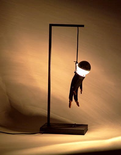 interesting lighting innovation on table ls idea hanged man type lighting