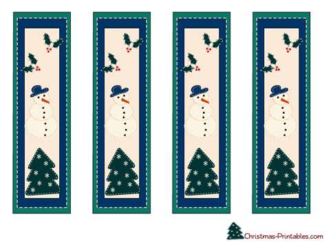 printable bookmarks free free printable christmas bookmarks