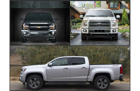 Ford Truck Vs Chevy by 2016 Ford Vs 2016 Chevy Trucks Built Ford Tough Or Like