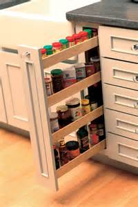 Pull Out Spice Racks For Kitchen Cabinets 25 Smart Ways To Store Herbs And Spices Jewelpie