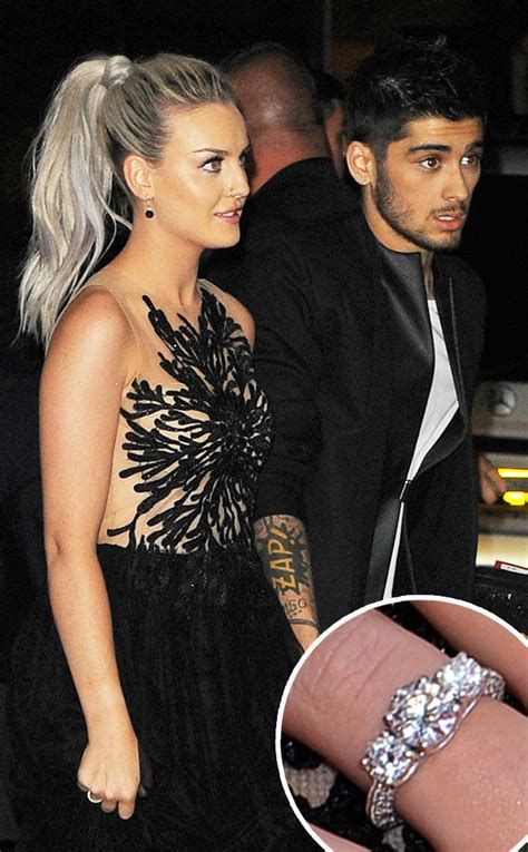 One direction s zayn malik is engaged to perrie edwards e news