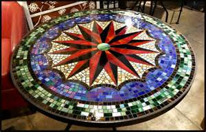 Mosaic Patio Table Top Mosaic Tables On Mosaic Tables Mosaic Table Tops And Mosaics