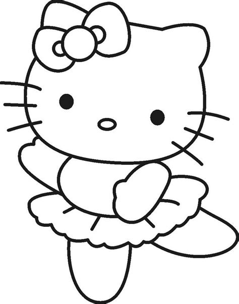 Lulu Kitty Coloring Pages | lulu caty free coloring pages