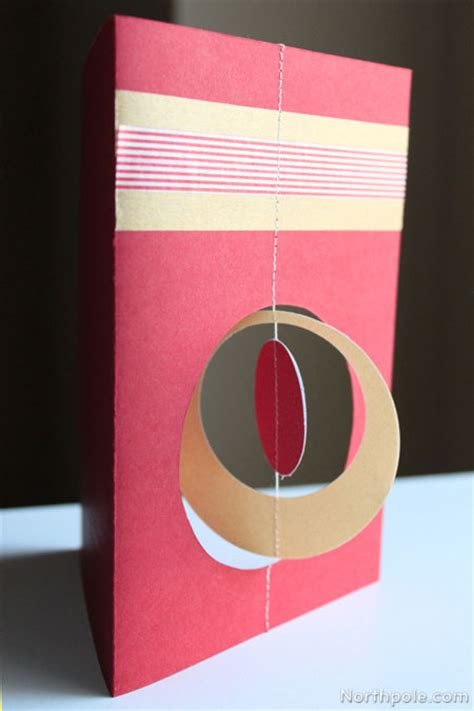 spinning ornament card