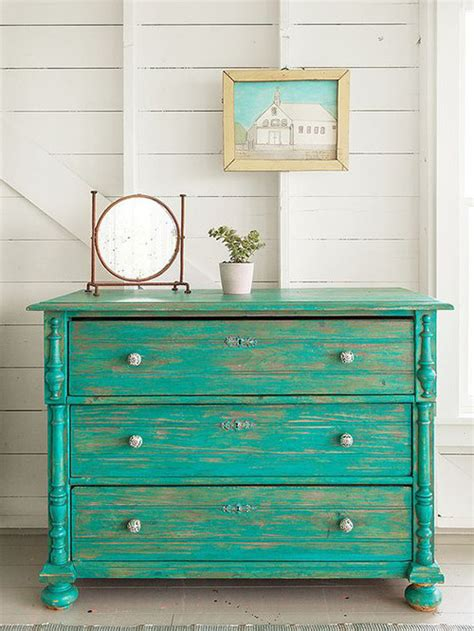 muebles decorados con chalk paint 20 muebles pintados con chalk paint para inspirar tu