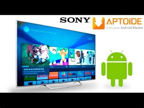 aptoide youtube tv how to install aptoide market in your sony android tv
