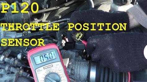 test  replace  throttle position sensor tps