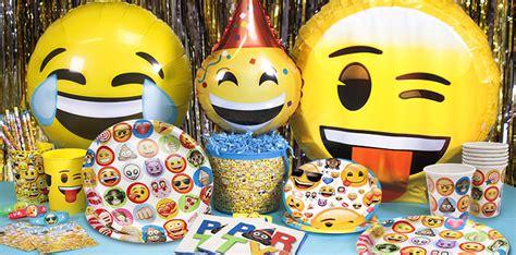 Anniversaire Emoji Ballons Emoji Partycity Eu M