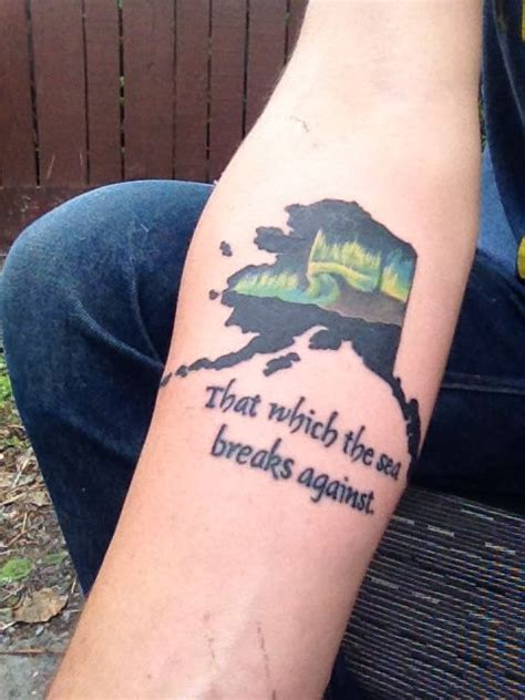alaskan tattoos designs 121 best alaska tattoos images on alaska