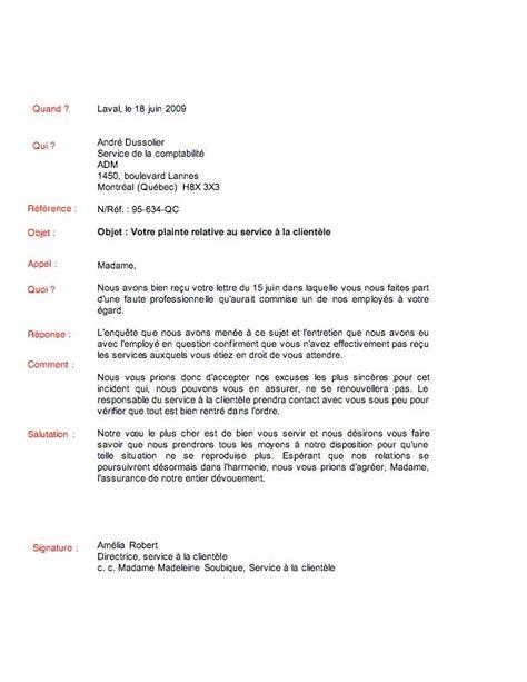 Exemple De Réponse à Une Lettre De Mise En Demeure Sle Cover Letter Exemple De Lettre De Reponse A Une Plainte