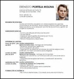 Plantilla De Curriculum Vitae Para Administrativo Modelo Curriculum Vitae Auxiliar Administrativo De Iglesia Livecareer