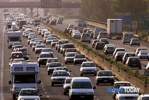 ufficio traffico bologna a14 intasata dal traffico rientro da rimini oltre 2