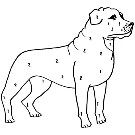 rottweiler puppies coloring pages rottweiler coloring download rottweiler coloring