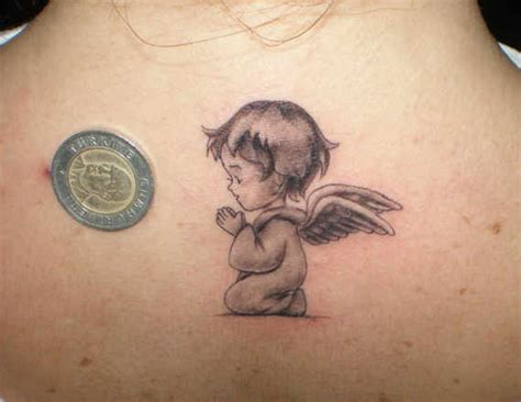 angel with baby tattoo designs 31 superb baby tattoos and designs