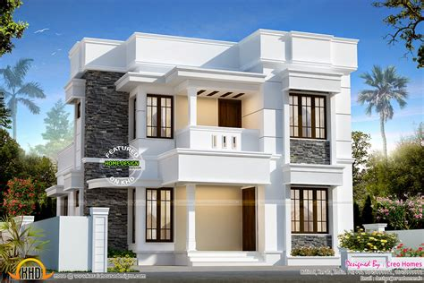 Nice House Plans | beautiful modern contemporary home keralahousedesigns