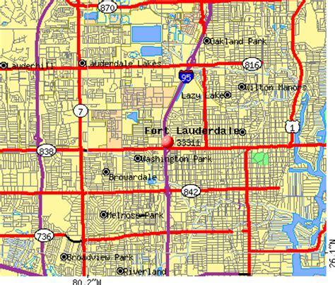 zip code map broward broward county zip code map