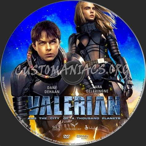 film gratis valerian valerian and the city of a thousand planets dvd label