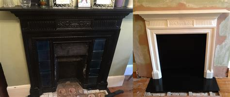 How To Fix A Fireplace Surround by How To Fix A Cast Iron Fireplace To Wall Home Design