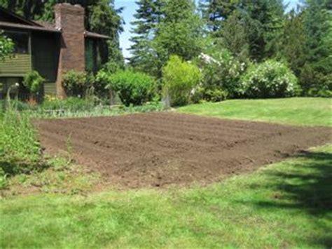 Garden Tilling Service by Rototilling Service