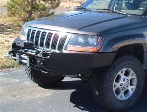 2000 jeep bumper front winch bumper jeep grand wj 99 04