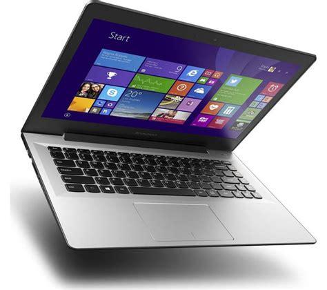 Laptop Lenovo U41 buy lenovo u41 14 quot laptop silver livesafe unlimited