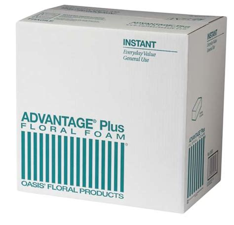 Advan Tig Plus advantage 174 plus floral foam 36
