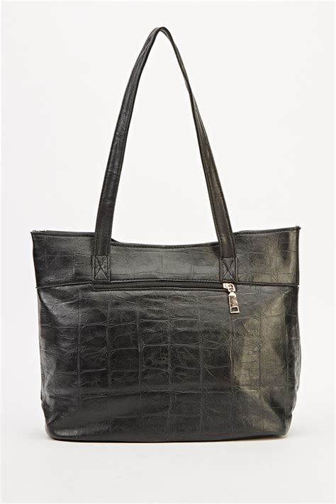 Top Five Mock Croc Bags by Contrast Mock Croc Handbag Just 163 5