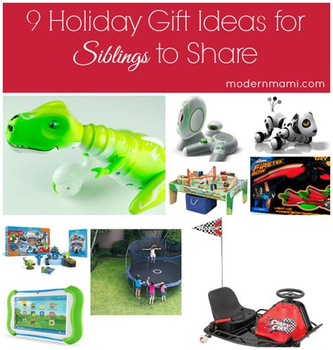 9 holiday gift ideas for siblings to share modernmami