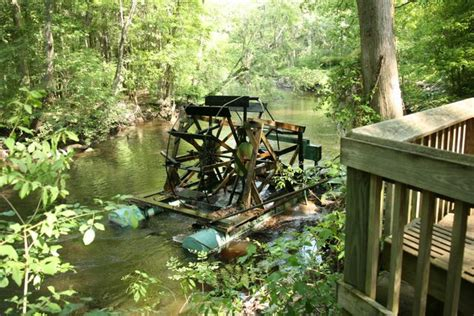 Edisto Gardens by Water Wheel Edisto Memorial Gardens Orangeburg Sc