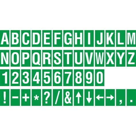 Buchstaben Aufkleber Wei by Identische Buchstabenaufkleber F 252 R Den Innen Wie