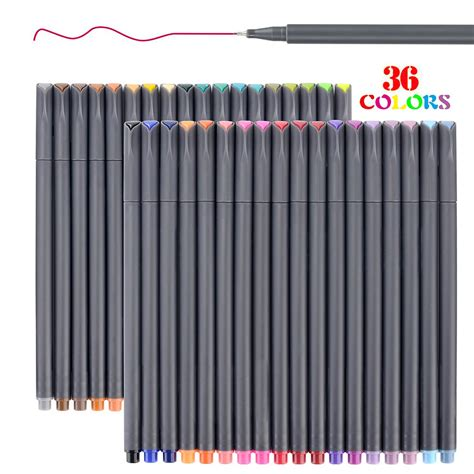 best colored pens for notes best in porous point pens helpful customer reviews