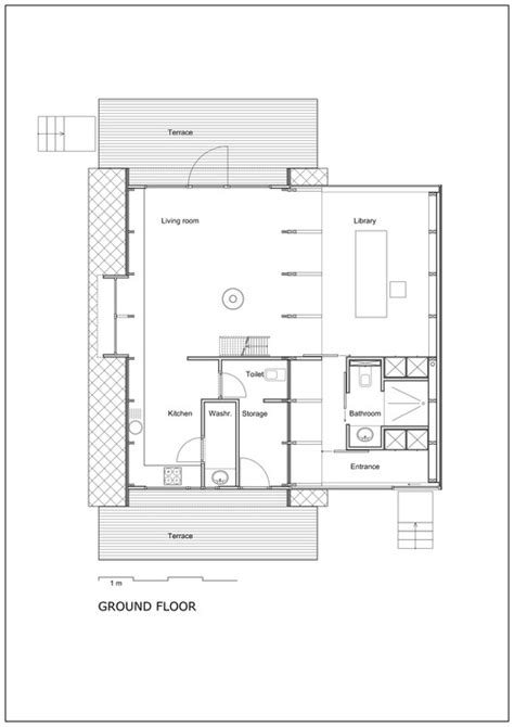 ground floor extension plans extension vb4 dmva archdaily