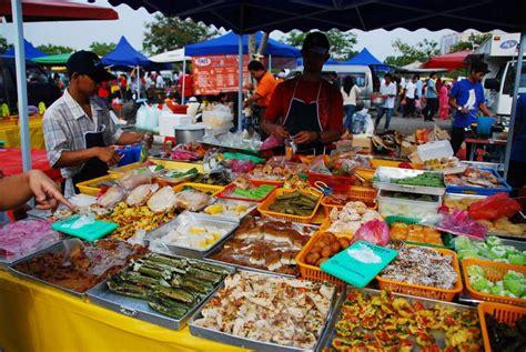 bazar cuisine bazar ramadan taman cempaka tumpuan ramai sepanjang