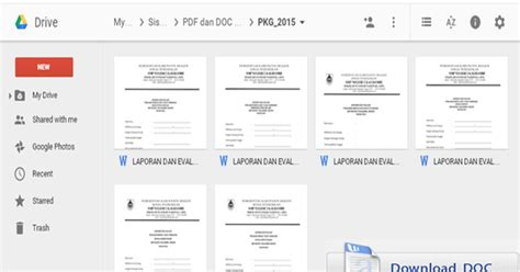 format evaluasi diri guru mata pelajaran format pkg 2015 meliputi penilaian kinerja guru mata