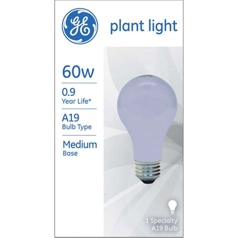 Grow Lights Walmart by Ge Plant Light 60 Watt A19 1 Pack Walmart