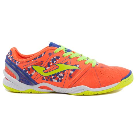 joma sport shoes flex 708 bright orange indoor joma