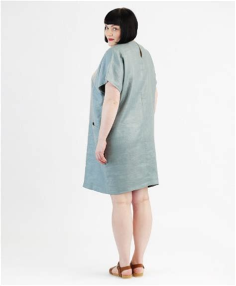 Patron Robe Simple Grande Taille - patron schnittchen robe grande taille pas cher sur