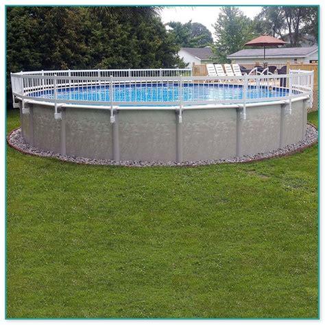 doughboy  ground pool fencing