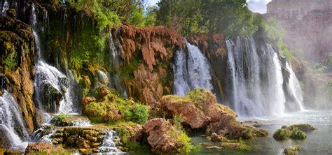 grand canyon waterfalls havasu waterfalls havasu falls more
