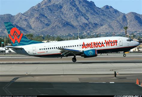 boeing 737 33a america west airlines aviation photo 1230103 airliners net