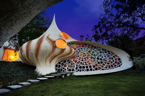 nautilus house unique shell shaped house  arquitectura organica