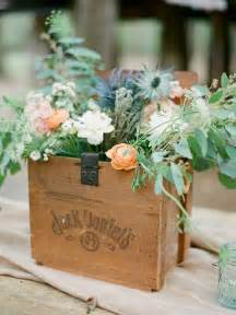 Barn Wood Flower Boxes 15 Rustic Wedding Centerpieces