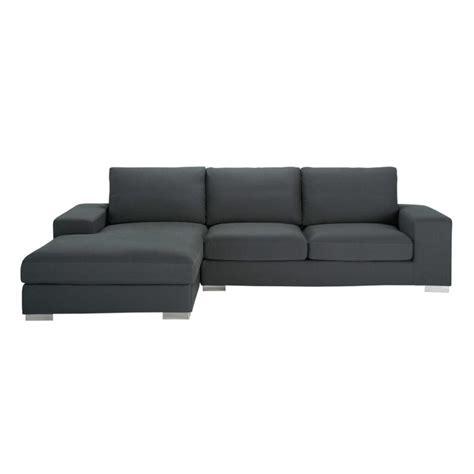 un divano a new york divano ad angolo grigio ardesia in cotone 5 posti new york